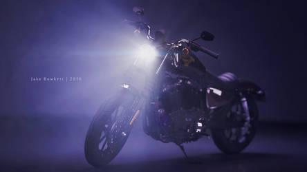 Harley Iron 883 2016 (sort of) by JakeBowkett