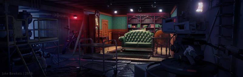 Mystery Room by JakeBowkett