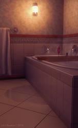 Bathroom by JakeBowkett