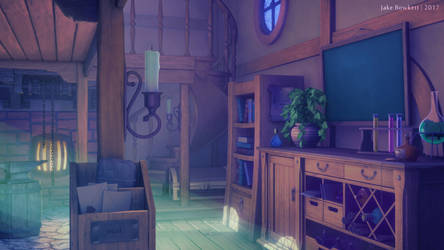 Alchemy Workshop [morning] by JakeBowkett
