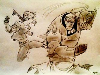 Fullmetal Alchemist by SighsOnWindyDays