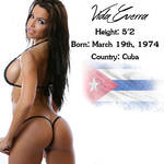 Most Beautiful Woman of her Country - Cuba