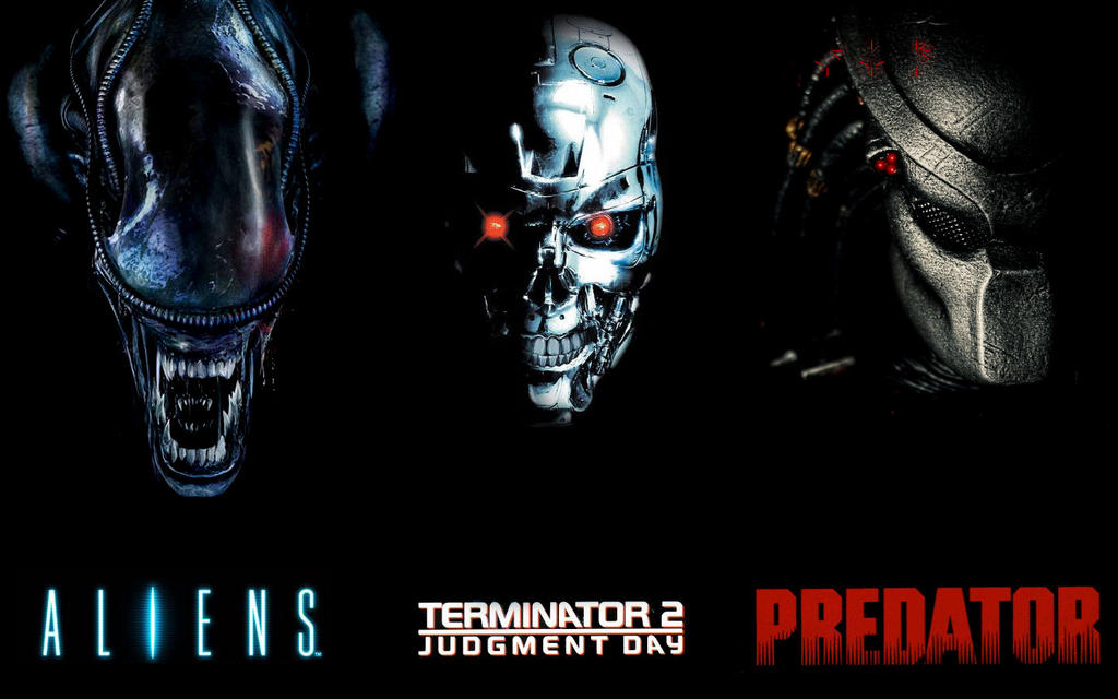 aliens vs terminator vs predator by bttf2 on deviantart