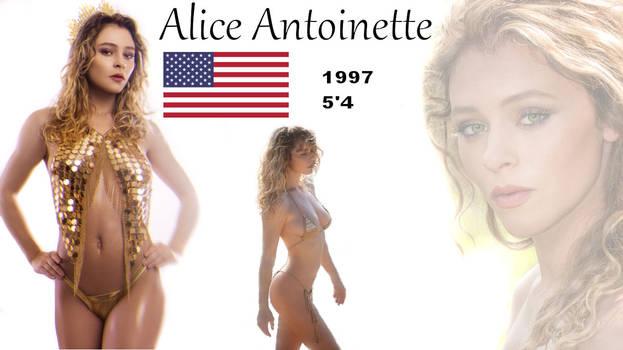 Antoinette alice Alice Antoinette