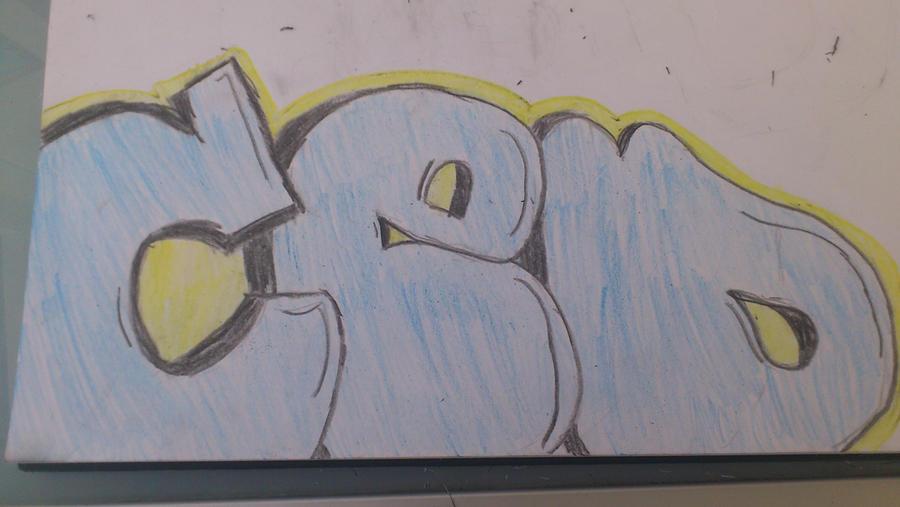 Graffiti Throw Up by Cedcrew on DeviantArt