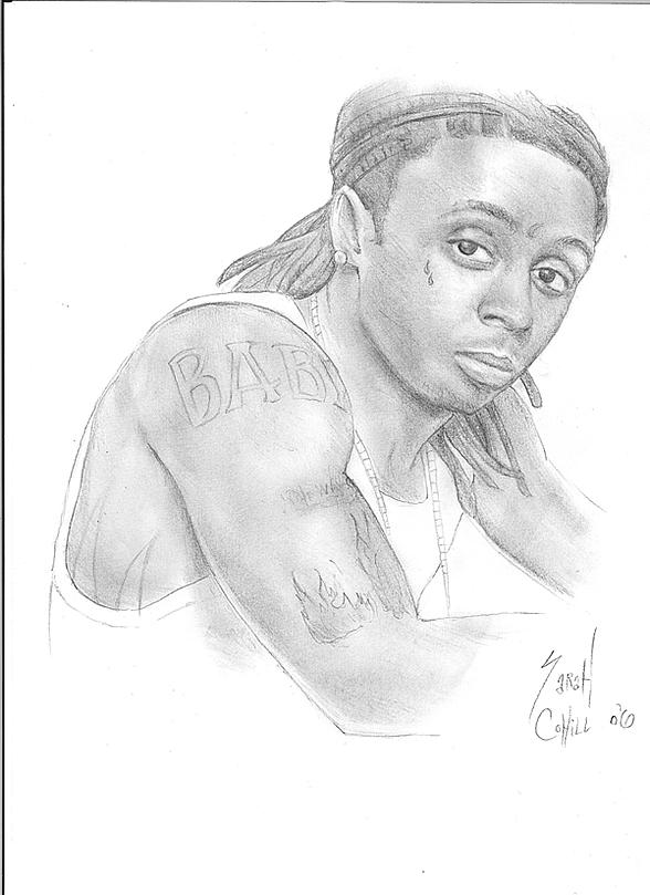 Pencil Drawings Of Lil Wayne Lil Wayne by mindlessm...