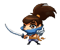 Pixel Yasuo by KittyConQueso