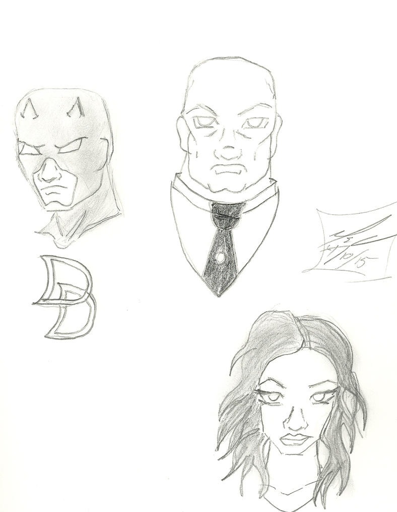daredevil cast by bairdduvessa