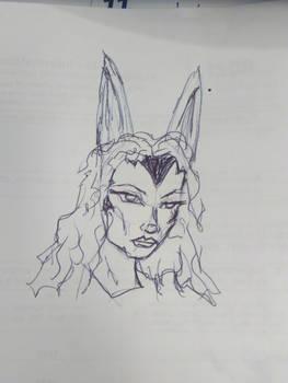 Quick Viera sketch