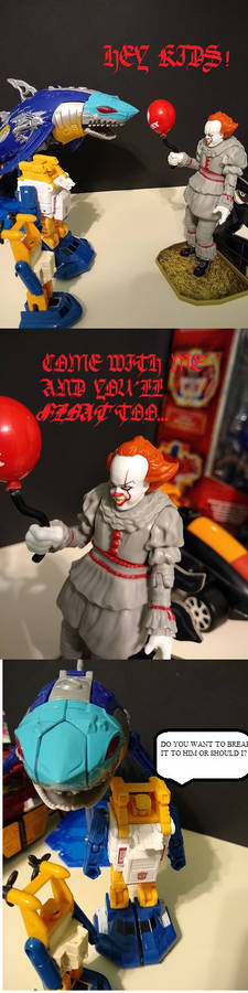 Pennywise vs the Wrong Set of Losers