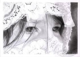 Laura et les dentelles by morvandelle