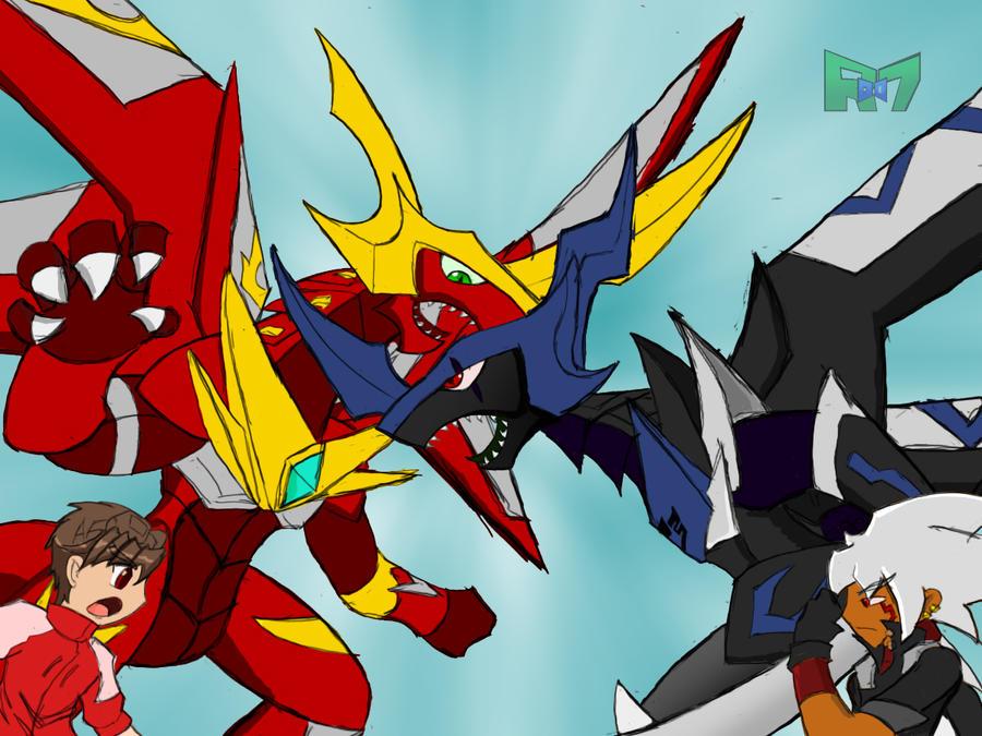 Titanium dragonoid and dan