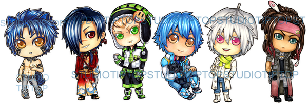 DMMD Stickers by StudioTipTop