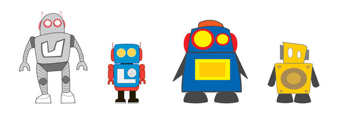 Robots on the Go
