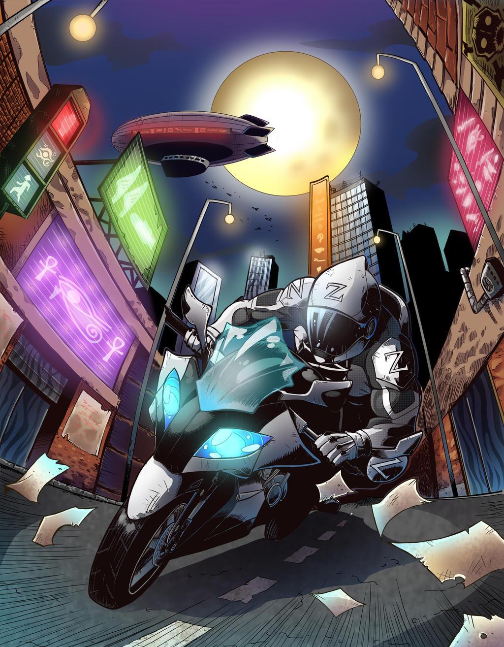 Z-biker! (GAL cover)