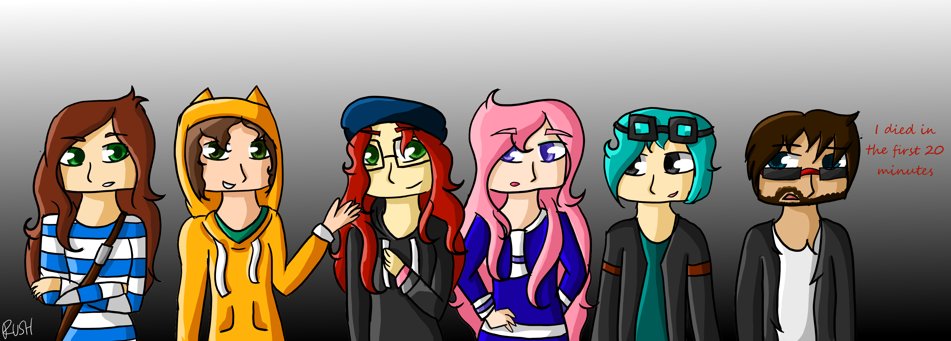 ep 6 YouTubers by RushDoesNotArt ep 6 YouTubers by RushDoesNotArt