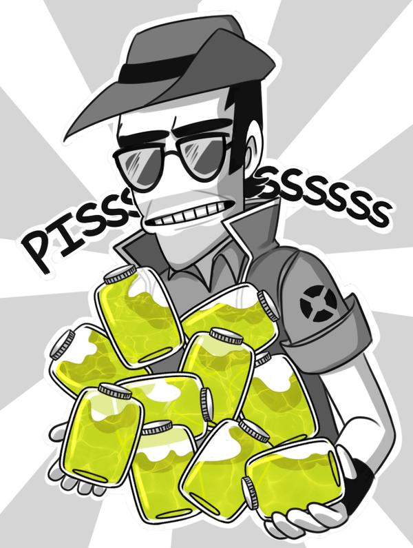 piece a' piss by psychohog