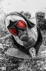 Gasmask 3 by FatmeBondage