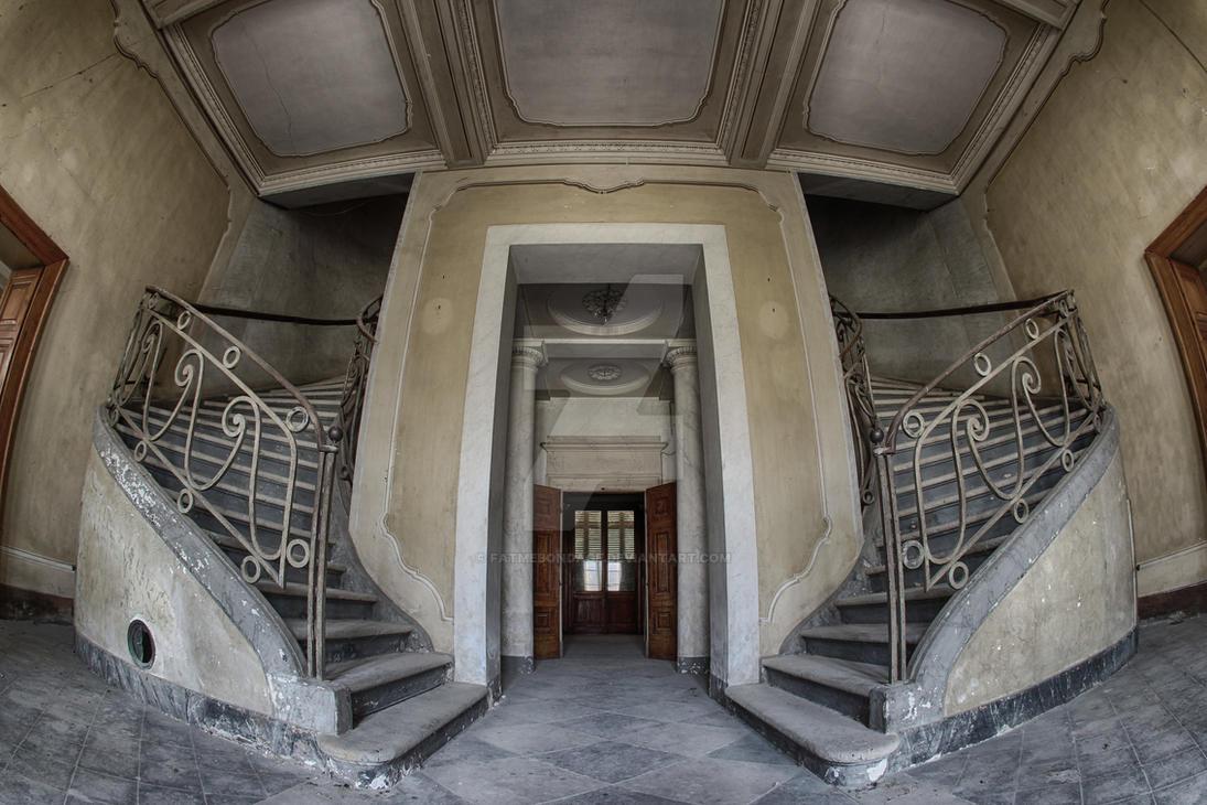 Casino stairs II by FatmeBondage