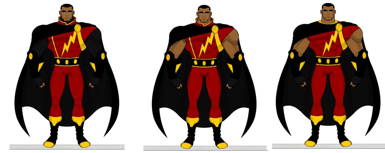 Captain Marvel SHAZAM Redesign By SplendorEnt