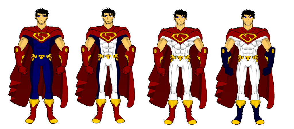 Superman Redesigns: Trilogy by SplendorEnt