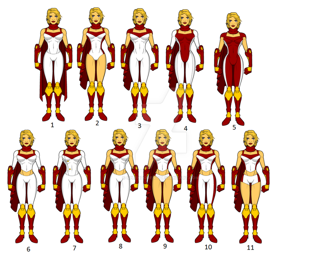 Powergirl Redesigns: Part duece by SplendorEnt