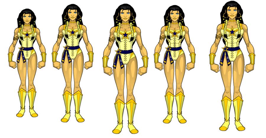 Wonder Woman redsigns by SplendorEnt