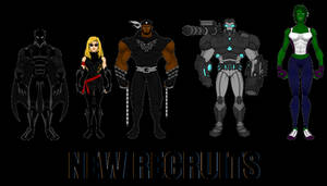 Avengers: New Recruits by SplendorEnt