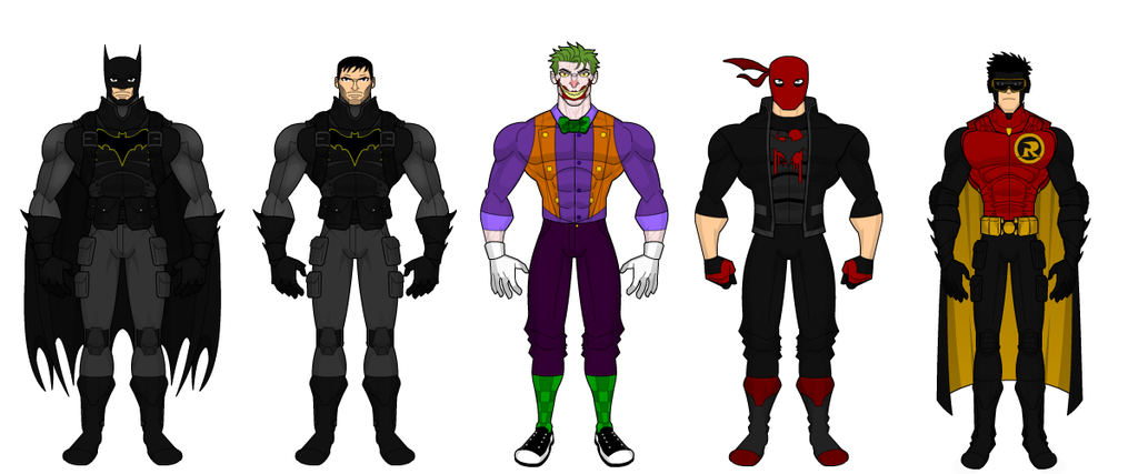 Batman Lineup by SplendorEnt