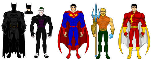 DC Redesigns by SplendorEnt