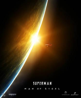 Superman:The Man of Steel Poster by SplendorEnt