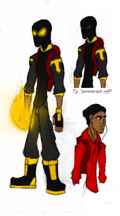 Tytan in yellow by SplendorEnt
