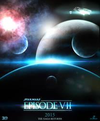 Star Wars: Episode 7 movie poster (JJ Abrams) by SplendorEnt