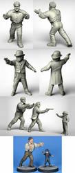 Couple of henchmen by Ergart