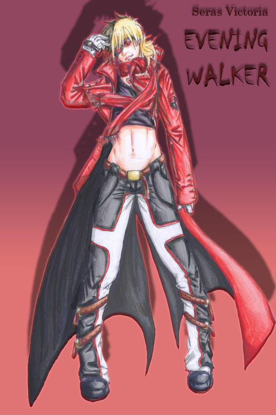Seras Victoria: evening walker by Reble-Cheeze