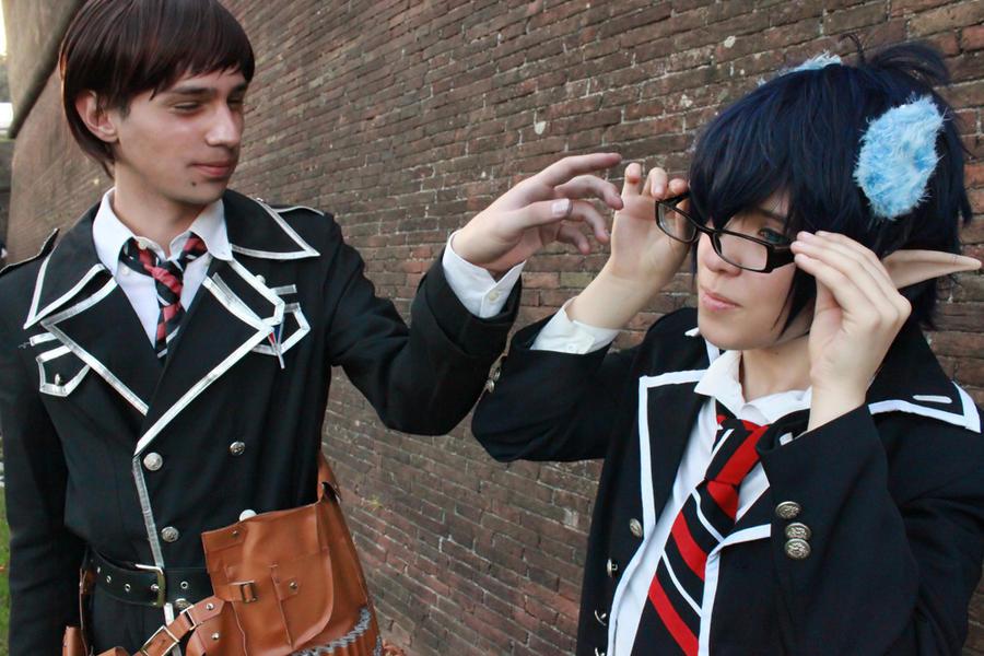 AnE: Don't touch my glasses by Kozato-kun