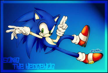 -Sonic Sketch- by Federica92