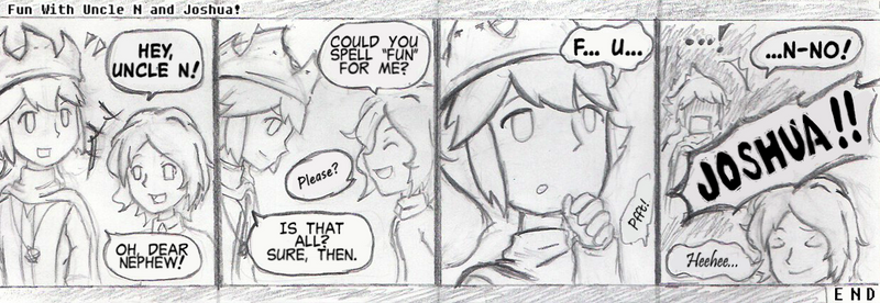 How to Make Fun of N in One Word (BTH comic)