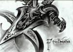 Frostmourne by Elliesmeria