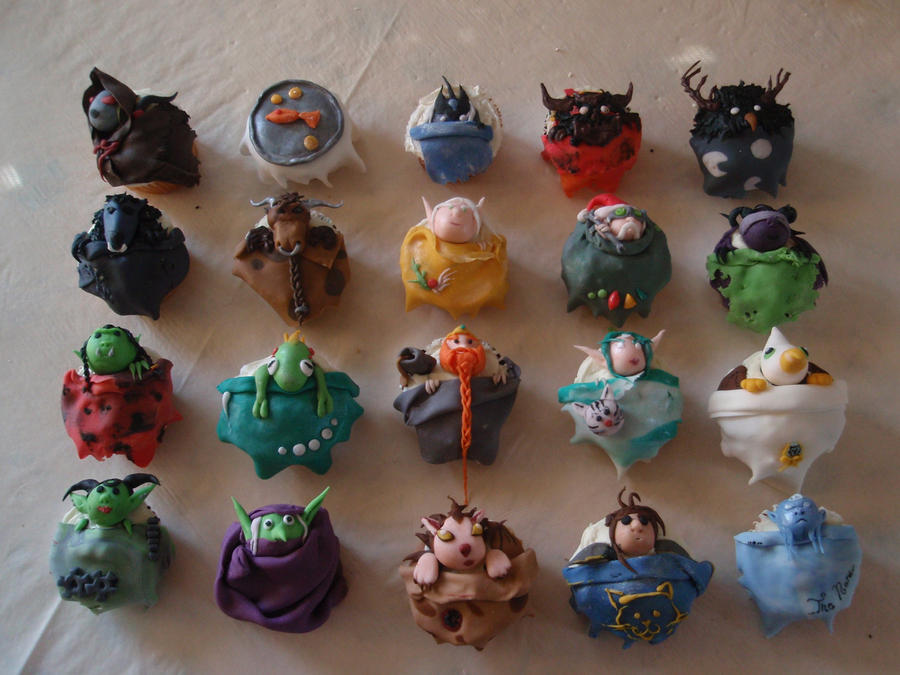 wow cupcakes by Elliesmeria