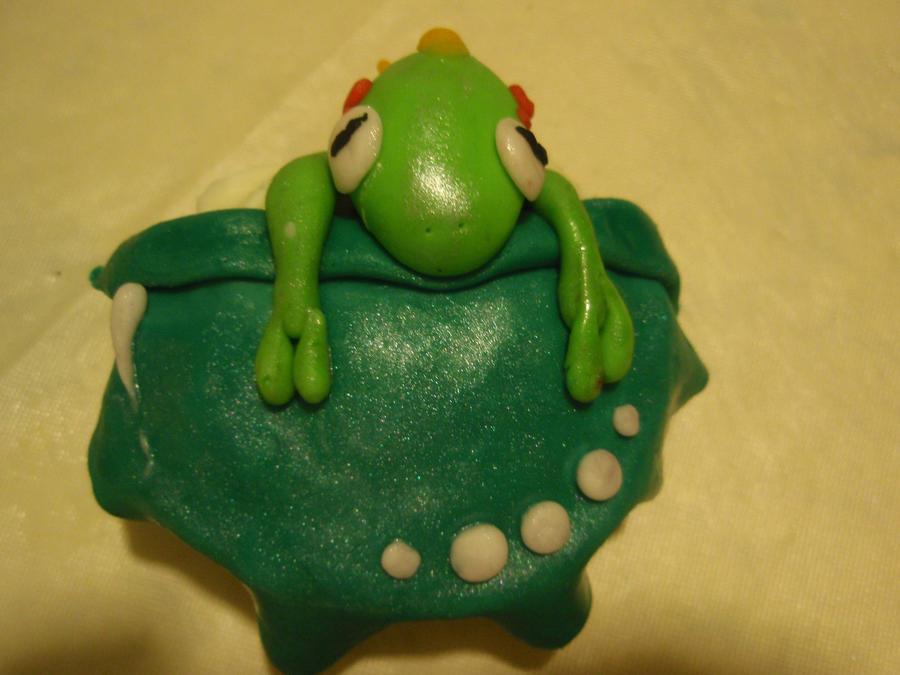 murloc cupcake by Elliesmeria
