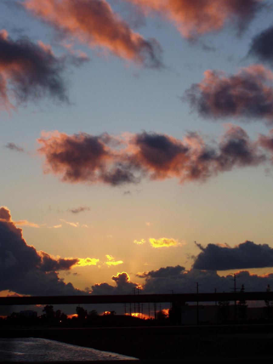 Sunset Bridge by Elliesmeria