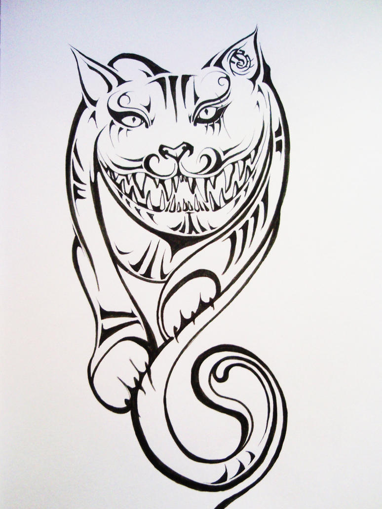 Grinning Cat by Elliesmeria