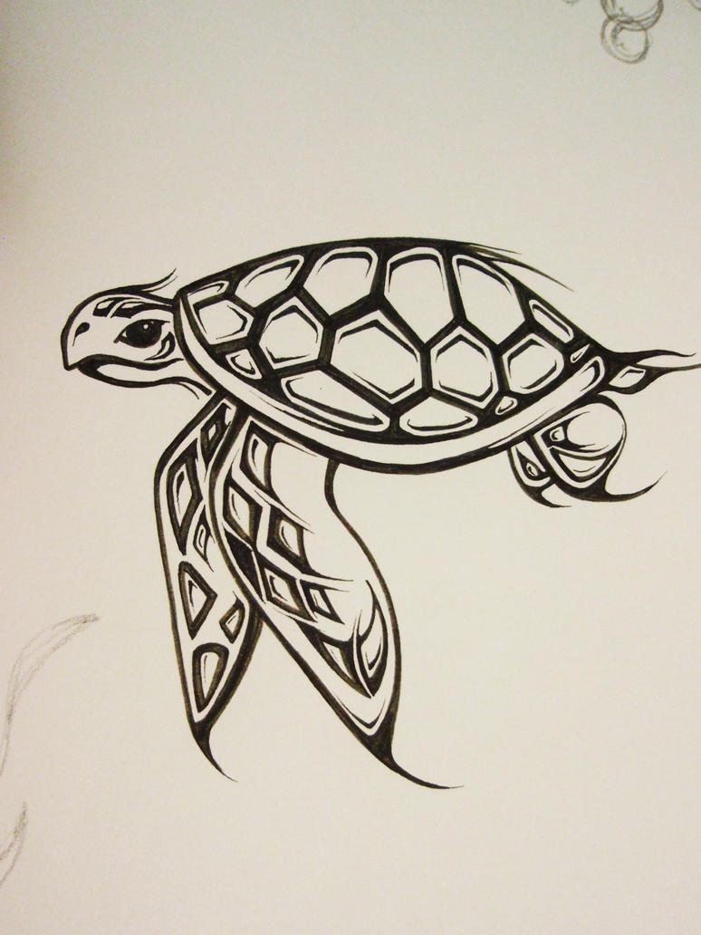 Sea Turtle by Elliesmeria