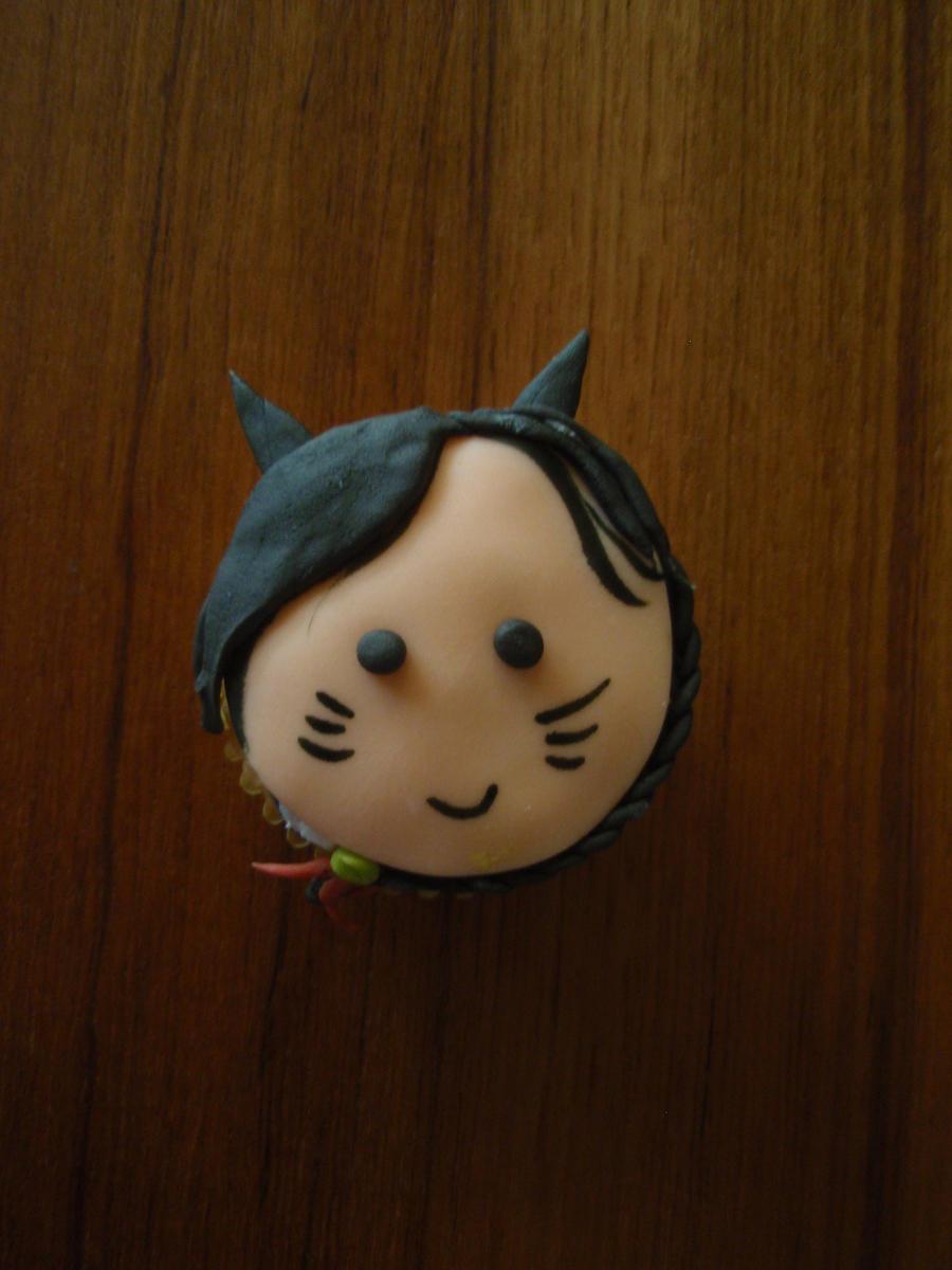 Ahri Cupcake by Elliesmeria