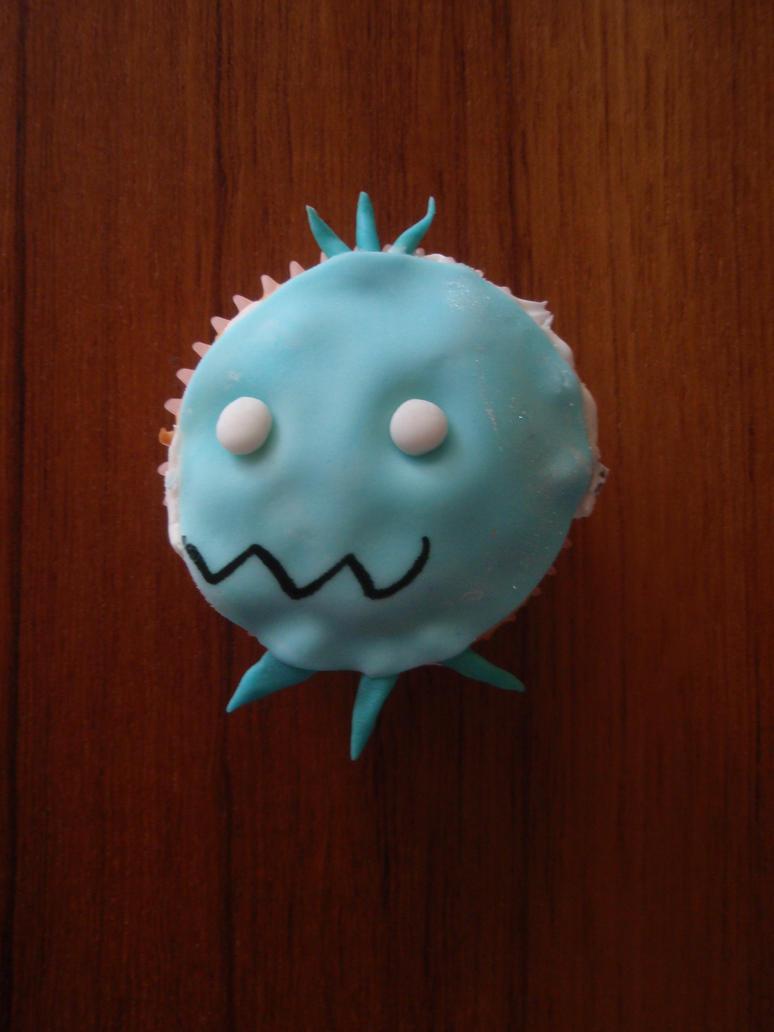 Fiddlesticks cupcake by Elliesmeria