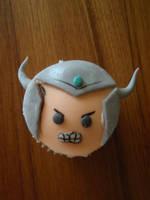 TRYNDAMERE cupcake by Elliesmeria