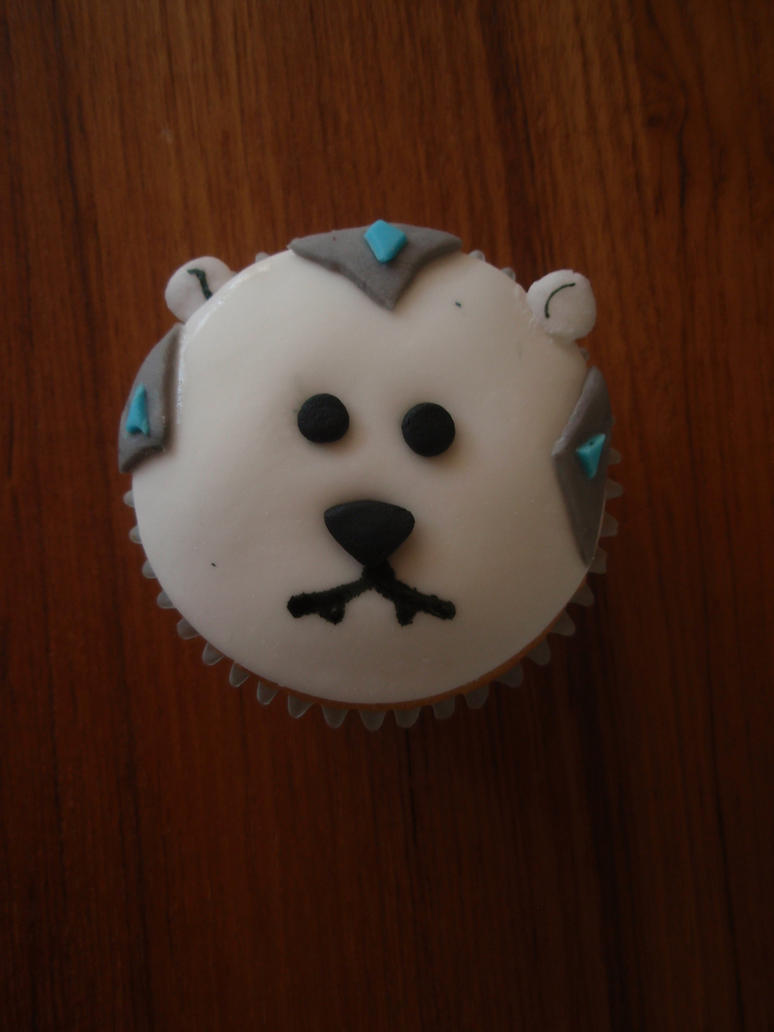 Volibear cupcake by Elliesmeria