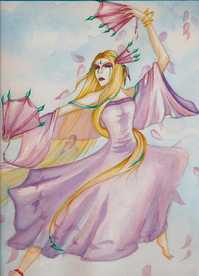 Petal Dance by Elliesmeria
