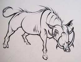 Warhog by Elliesmeria